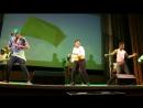 Танец студентов из Замбии