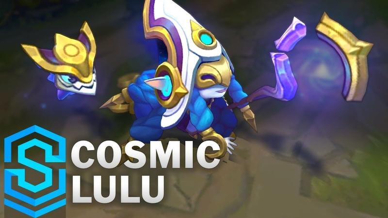 Cosmic Enchantress Lulu Skin Spotlight Pre Release League of Legends