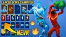 *NEW* Leaked Fortnite Skins Emotes..! (Christmas Raven, Love Ranger, Red Knight, Cheer up..)