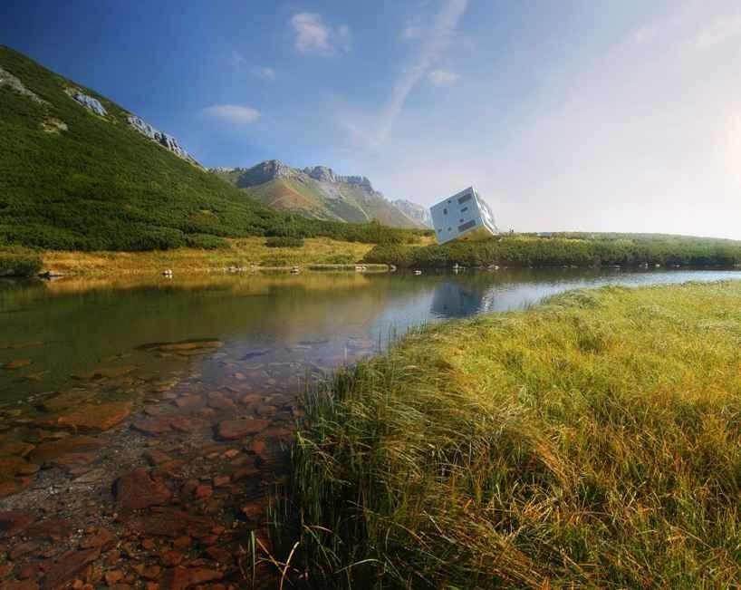 Хижина Kežmarské в Словацких горах