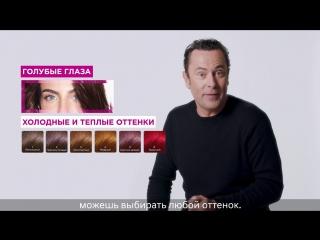 Как подобрать оттенок краски Casting Crme Gloss под цвет твоих глаз