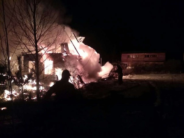 Пожар 17 апреля в дачном товариществе «Фиалка»