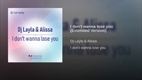 DJ Layla and Alissa - I Don't Wanna Lose You (Extended Version) - (Euro Pop Dance) WEB