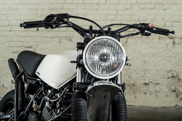 TOMA Customs: кастом Yamaha XT600 Scrambler