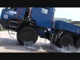 КАМАЗ-Арктика. Технические характеристики, подробный рассказ о вездеходе, показ (1)