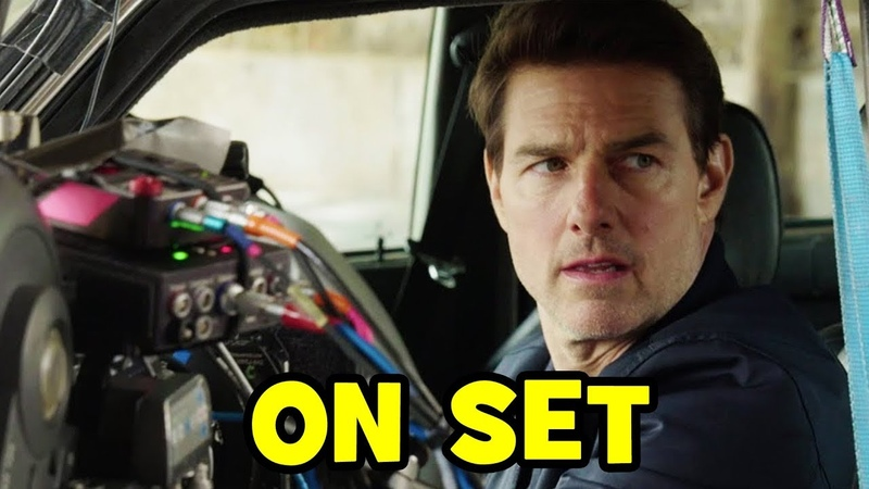 MISSION IMPOSSIBLE 6 Fallout BEHIND THE SCENES Movie B-Roll Bloopers