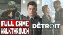 DETROIT BECOME HUMAN Gameplay Walkthrough Part 1 FULL GAME No Commentary Good Path