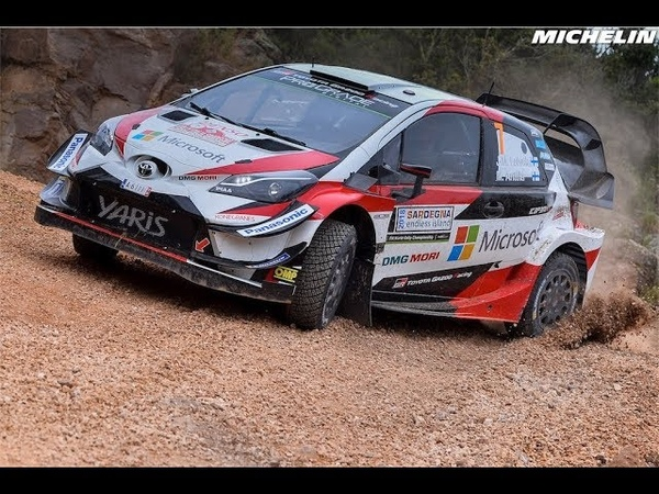 Shakedown 2018 WRC Rally Italia Sardegna Michelin Motorsport