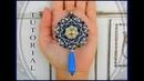Tutorial modulo BLOODY MARY by Burzy Creazioni ciondolo orecchini handmade whit love