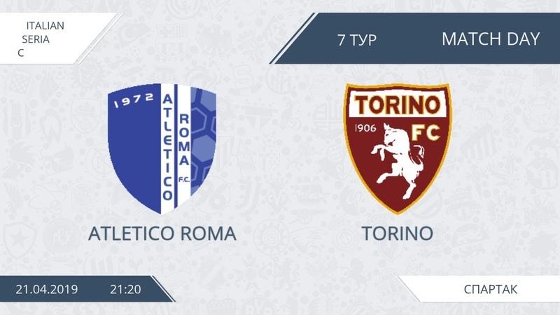 AFL19. Italy. Serie C. Day 7. Atletico Roma - Torino