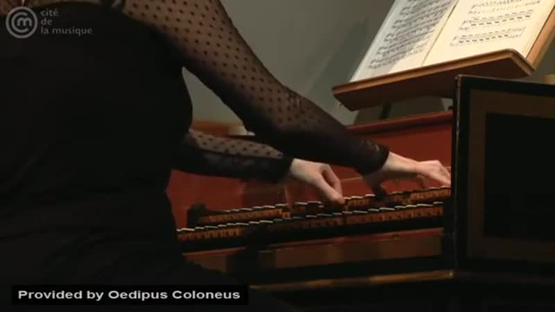 Bach_ Prelude for harpsichord in C minor, BWV 921 _ Violaine Cochard