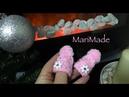 Мини Заколки Вязаные Шапочки МК от Маримейд Mini Art Hats Clips