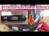 Chrysler Pt Cruiser Rear Bumper Removal and Replacement  2001 - 2009