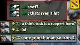 How Tusk traumatized them with 2600 gold only
