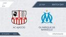 AC Ajaccio 1 6 Olympique de Marseille 23 тур Фр