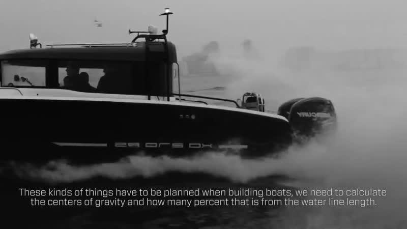 История создания морского катера XO 360 RS - Философия дизайна алюминиевого катера