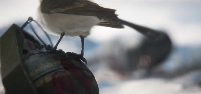 Птичка...