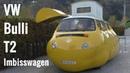 Total verrückter VW T2-Bus - Crazy Volkswagen T2 Bus - Bulli Imbisswagen Swarovski Kristallwelten
