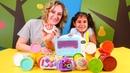 Play Doh Sihirli Fırın ile renkleri öğrenelim ve pasta yapalım