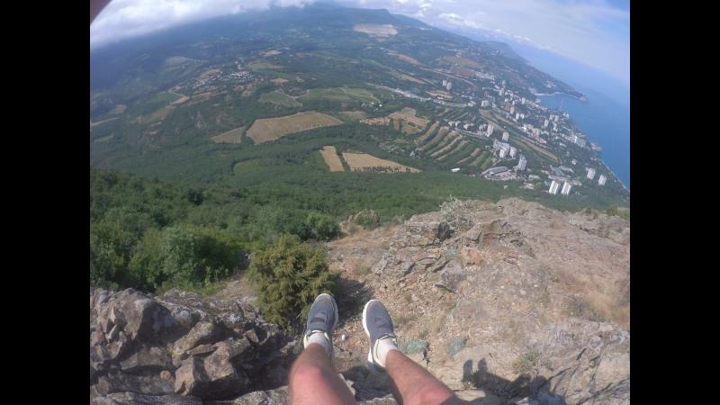 путь от Гурзуфа до вершины Медведь-Горы(Аю-Даг)