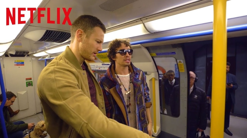 Robert Sheehan and Tom Hopper Chat Nonsense on the Tube | The Umbrella Academy