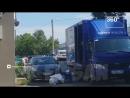 Почта России кидает посылки через автомобиль