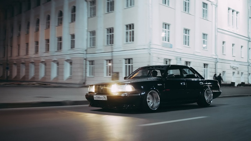 Crown of night(wide static toyota crown)