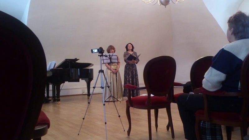 П.Виардо Хаванез исполняют сопрано Оксана Беленькая, меццо-сопрано Алла Васильченко