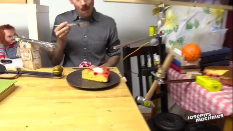 Подача десерта почти без заморочек