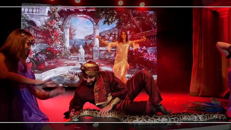Amel Jazi and Manuel Manuk - Dance Saidi and python