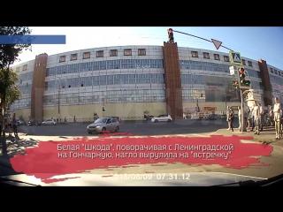 Наглый водитель «Яндекс Такси» игнорирует все правила: ВИДЕО