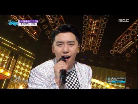 [Comeback Stage] SEUNGRI - 1, 2, 3!, 승리 - 셋 셀테니 (1, 2, 3!)(with.안다) Show Music core 20180721