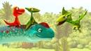 Мультик про Поезд Динозавров. Большой динозавр