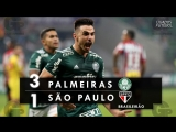 Palmeiras 3 x 1 São Paulo - Melhores Momentos (HD 60fps) Brasileirão 02_06_2018