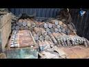 На специальном полигоне в Батецком районе уничтожены около 300 снарядов времен Великой Отечественной