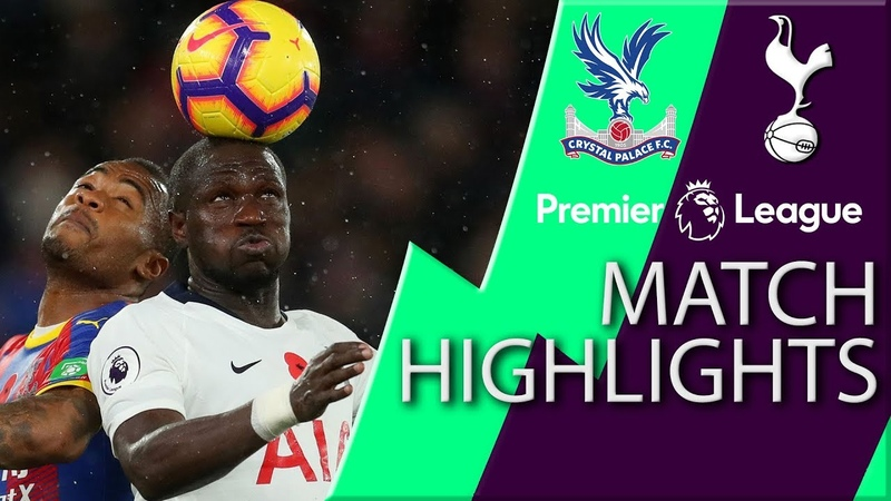 Crystal Palace v Tottenham I PREMIER LEAGUE MATCH HIGHLIGHTS I 11 10 18 I NBC Sports