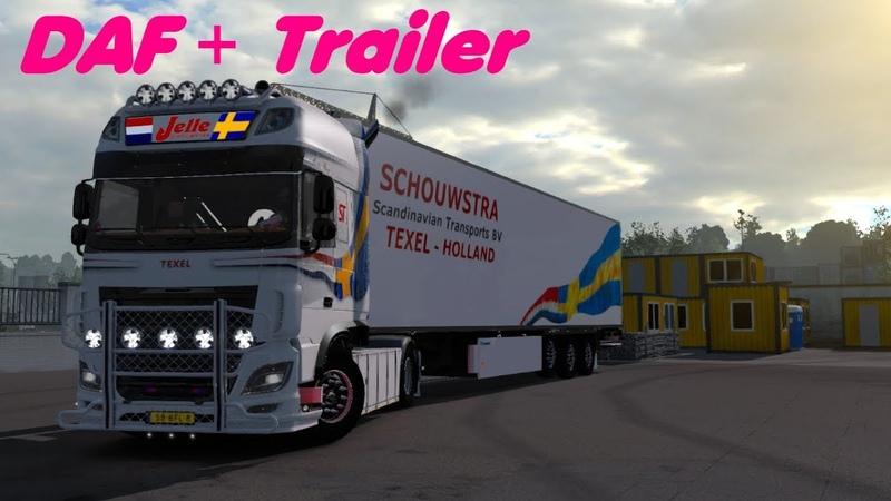 DAF Jelle Schouwstra Trailer