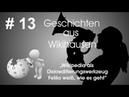 Wikipedia als Diskreditierungswerkzeug Feliks weiß wie es geht 13 Wikihausen
