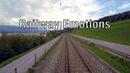 Rural train round trip Cab Ride Switzerland S6 Schwanden Rapperswil Schwanden