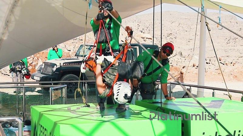 The Worlds Longest Zipline - Jebel Jais, Ras Al Khaimah
