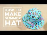 How to make a summer hat | DIY hat tutorial ❤❤ Adult version
