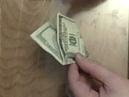 Origami Flapping Bird from One Hundred Dollar Bill - Marc kirschenbaum