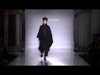 Miriam Ponsa - Fall Winter 2019-2020 Full Fashion Show (Exclusive)