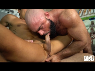 Reality dudes - dick dorm - playing games - damien stone, steven roman and titus 1080p