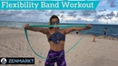 Zenmarkt Ballet Stretch Band Beach Exercises - Stretch Bands Workout
