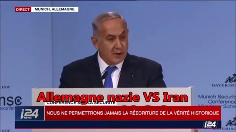 Netanyahu « lIran veut Annihiler 6 MILLIONS DE JUIFS » 18 Fév 2018 - YouTube