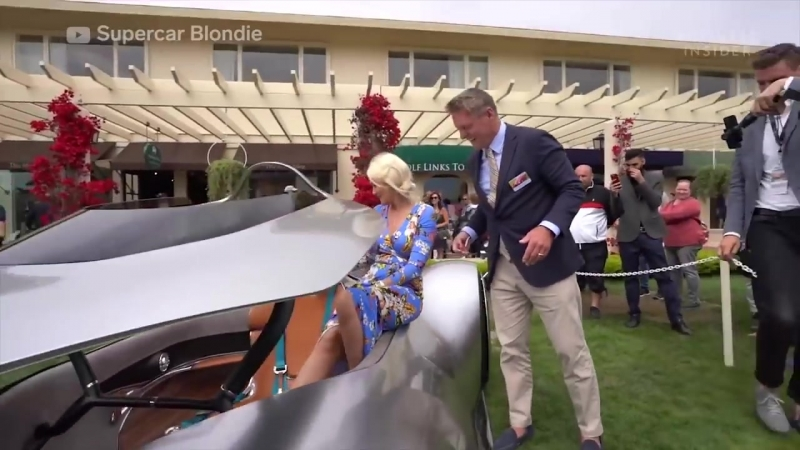 Mercedes Benz EQ Silver Arrow Show Car's Roof Comes Down Around You
