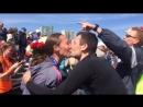 предложение выйти замуж на казанском марафоне