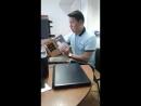 Жастар таңдайды - Молодежь предпочитает атты жобасына қатысушы Рахматулла Жетпісбайұлы жастарды кітап оқуға шақырады