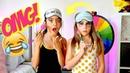 Funny Blindfolded Makeup Girls Challenge ft PIPER ROCKELLE 👯💕